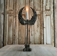 Load image into Gallery viewer, Gorgeous Large Winged Candlestick