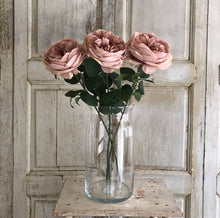 Load image into Gallery viewer, Pink Garden Rose Stems