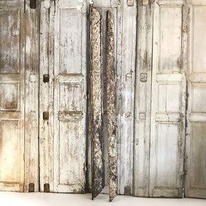 Pair Of Gorgeously Weathered Bois Dore Boiserie's