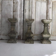 Load image into Gallery viewer, Trio Of French Stone Balustrades