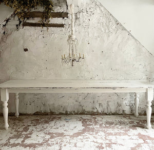 Gorgeous Large 19th Century French FarmHouse Table