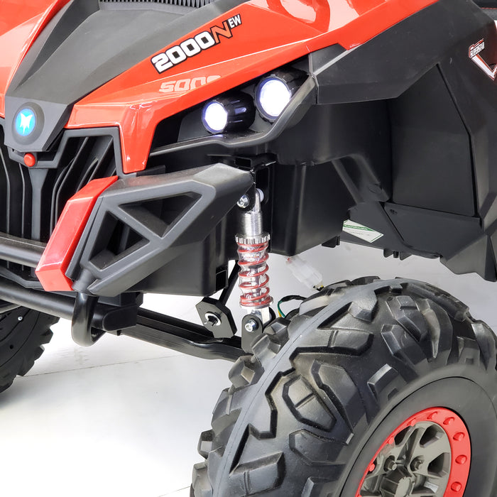 Buggy - XMX603 Red Color, Real  24 VOLTS ! SUPERPOWER !  2 motors  200 WATTS !