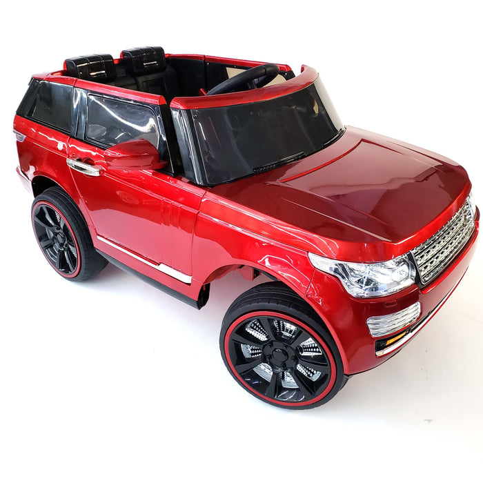 Kids Electric Remote Control Ride On Car Battery Operated 3 Speed MP3 USB Radio FM Bluetooth Connection.