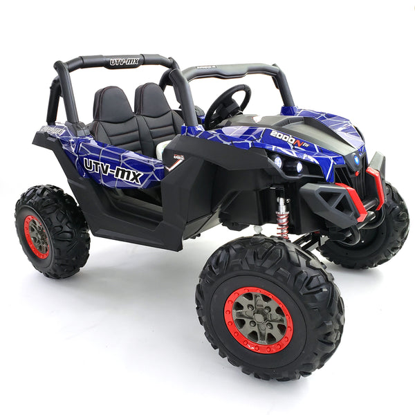 Buggy XMX603 spider blue NEW 2021 - OFF ROAD RIDE ON CAR UTV 4 WHEELS DRIVE BEST FOR HARD ROCK AND GRAVEL