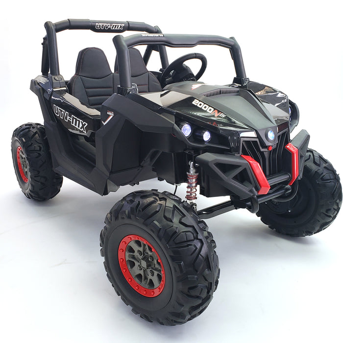 Buggy - XMX603 Black Color, Real  24 VOLTS ! SUPERPOWER !  2 motors  200 WATTS each 400W in total! !