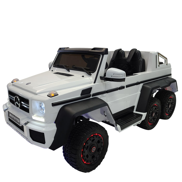 Mercedes  G63 Six Wheels Drive , Now ADULTS and KIDS drive  together . 6 Motors 35Watt each