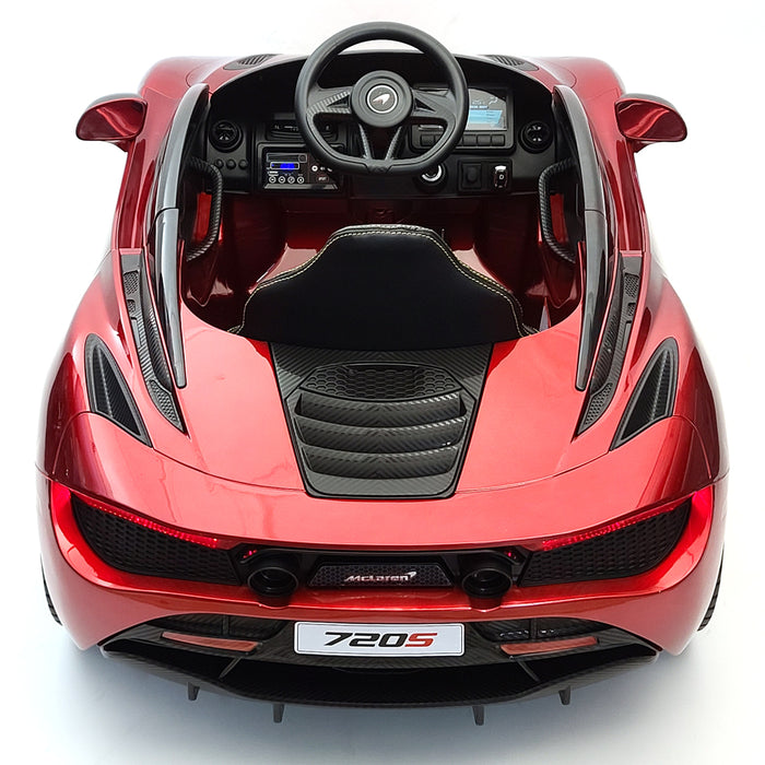 McLaren 720s 12 Volt Todler Car 2,4G Remote Control Open Able Vertical Doors