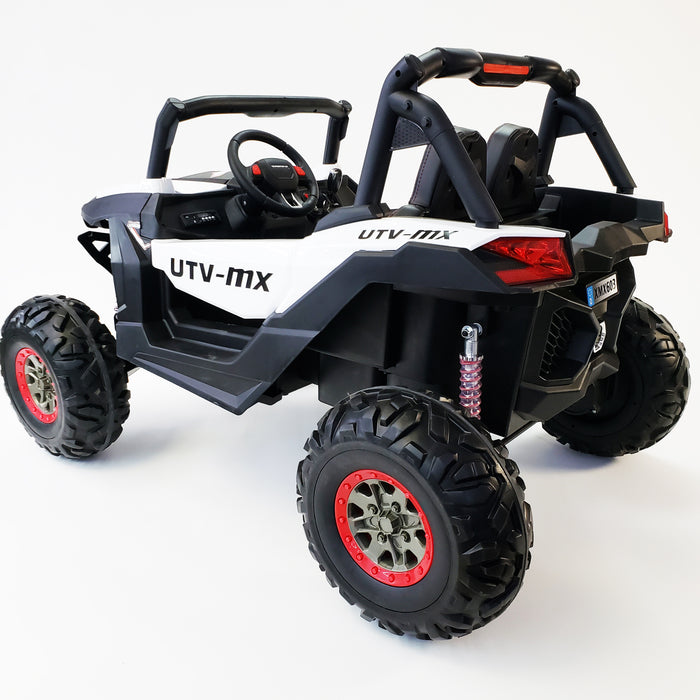 Buggy - XMX603 White Color, Real  24 VOLTS ! SUPERPOWER !  2 motors  200 WATTS !