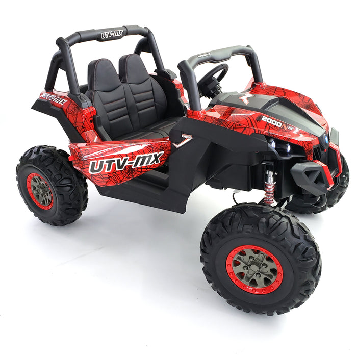 buggy-XMX603-spider-red  NEW 2020 - OFF ROAD RIDE ON CAR UTV 4 WHEELS DRIVE BEST FOR HARD ROCK AND GRAVEL .