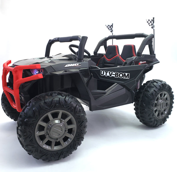 Electric Ride On Car Buggy-BJC999-24V-black 2 Seats*2 -200 Watts Motors*24 Volts*3 Speed