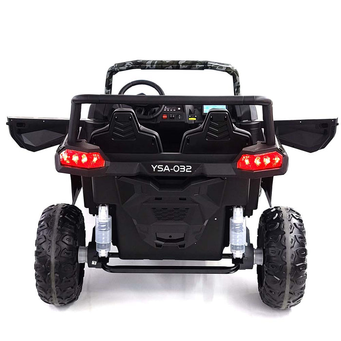 Buggy-A032-red Electric Ride On Buggy 2 Seats 4 Motors 60 Watts Each EVA Rubber Wheels