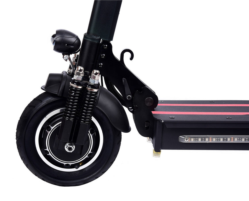 Electric  Scooter EZ12 Powerful 1.200 Watts Motors Air Tires Spring Shock Absorption