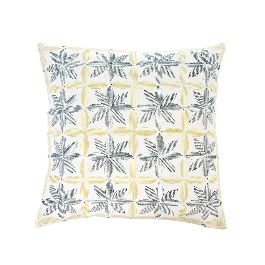 PALM BLOCK PRINT CUSHION