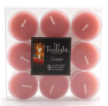 TEALIGHTS - 9 PACK - BABY ROSA