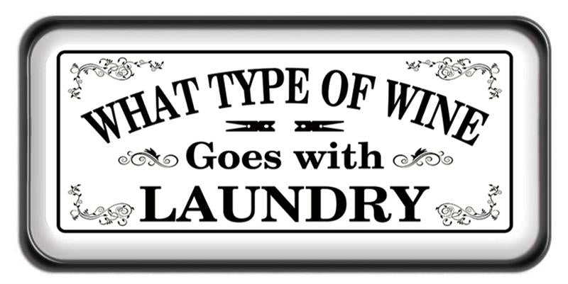 WINE & LAUNDRY SIGN