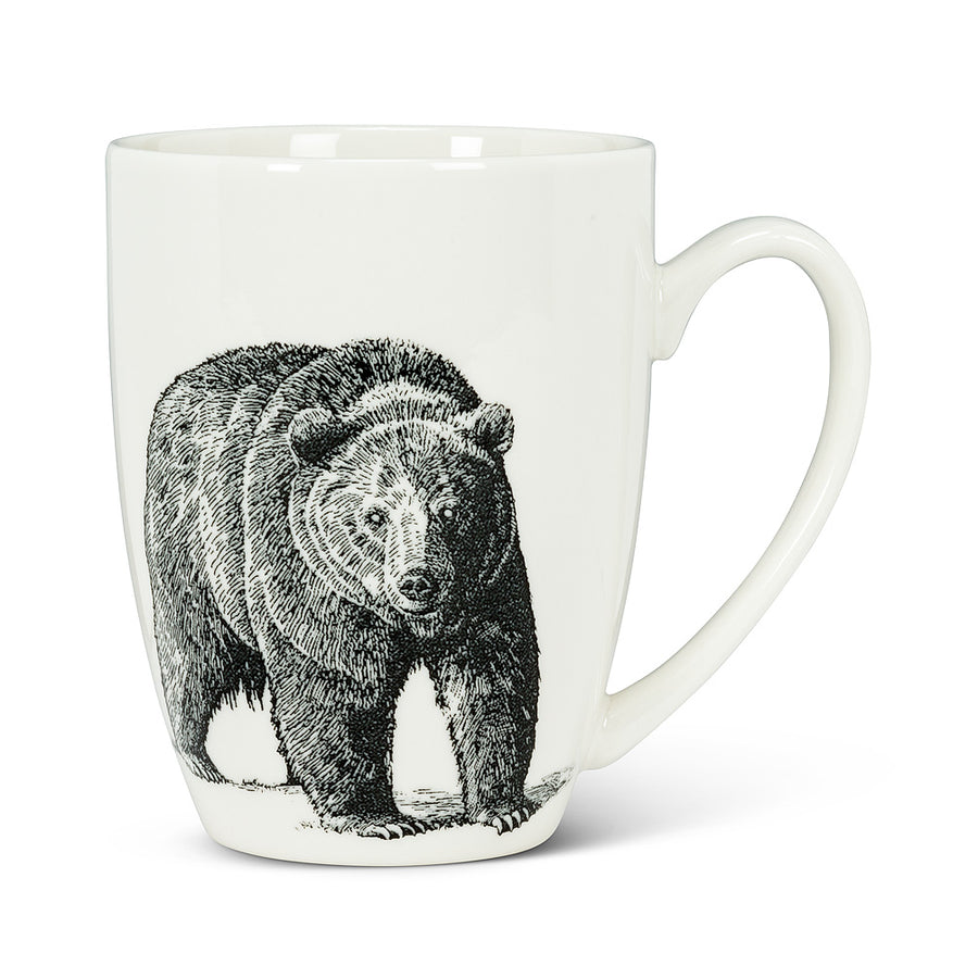 PEN/INK BEAR MUG