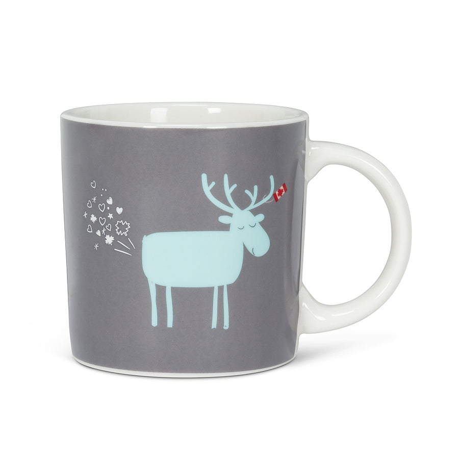 GRAPHIC FARTY MOOSE MUG