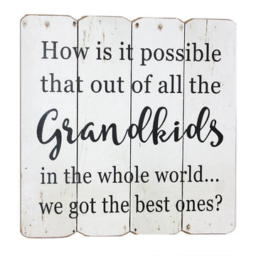 GRANDKIDS WALL PLAQUE