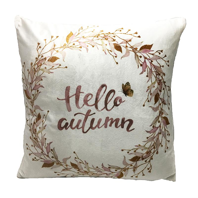 PILLOW HELLO AUTUMN