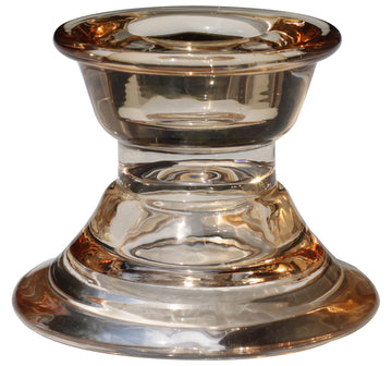 SIMPLICITY CANDLE HOLDER BRONZE