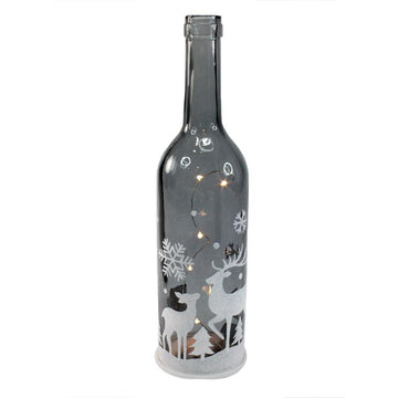 GREY LED HOLIDAY BOTTLE