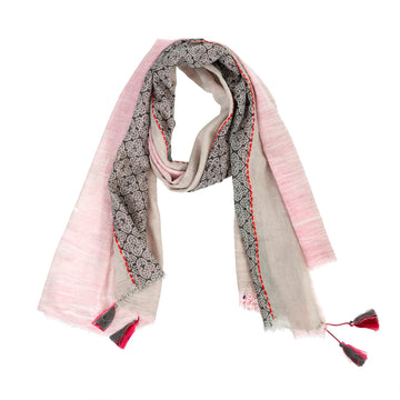 CURACAO SCARF - PINK