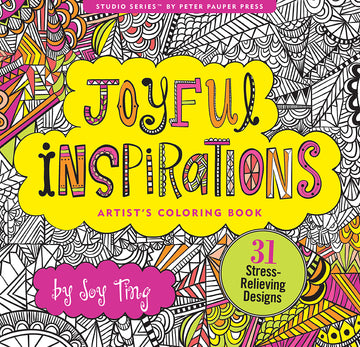 COLOR BOOK JOYFUL INSPIRATIONS