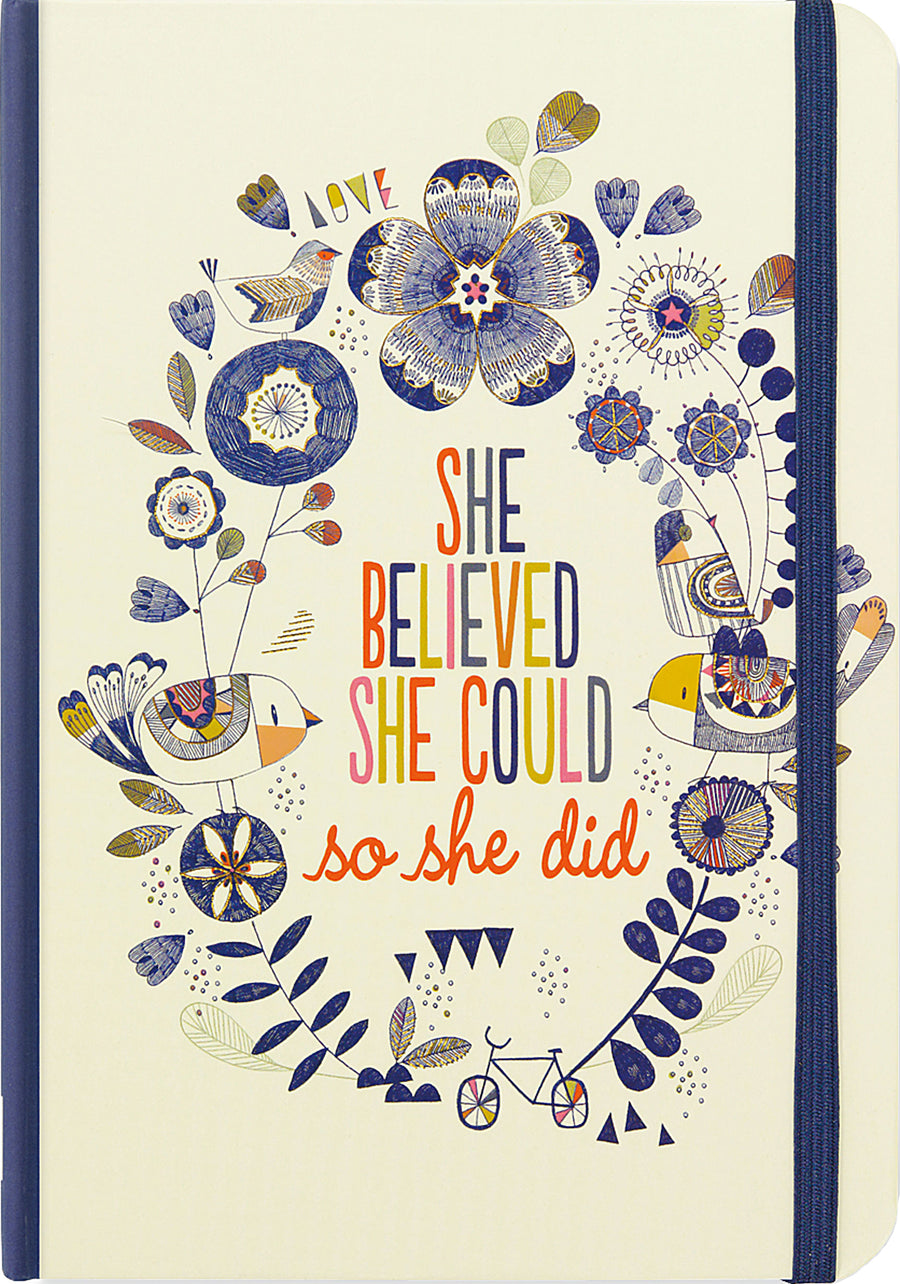 SMALL JOURNAL - SHE BELIEVED SHE COULD