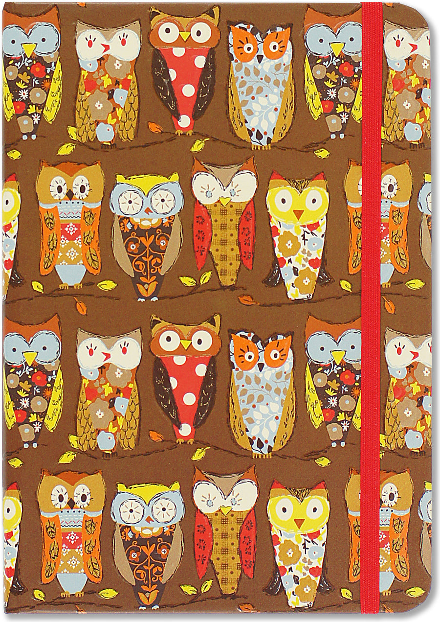SMALL JOURNAL - PERCHING OWLS