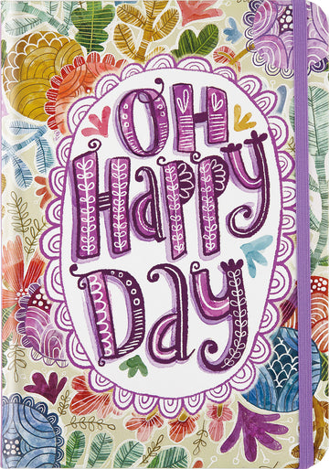 SMALL JOURNAL - OH HAPPY DAY