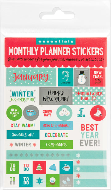 PLANNER STICKERS - MONTHLY PLANNER