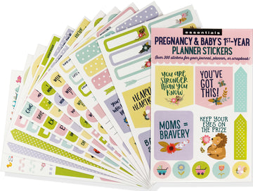 PLANNER STICKERS - PREGNANCY/BABY'S 1ST YEAR
