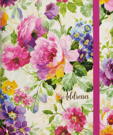 ADDRESS BOOK - PEONY GARDEN