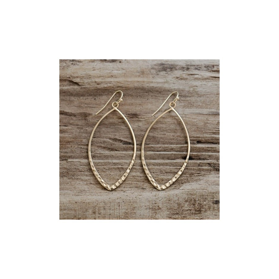ALMOND EARRINGS - GOLD