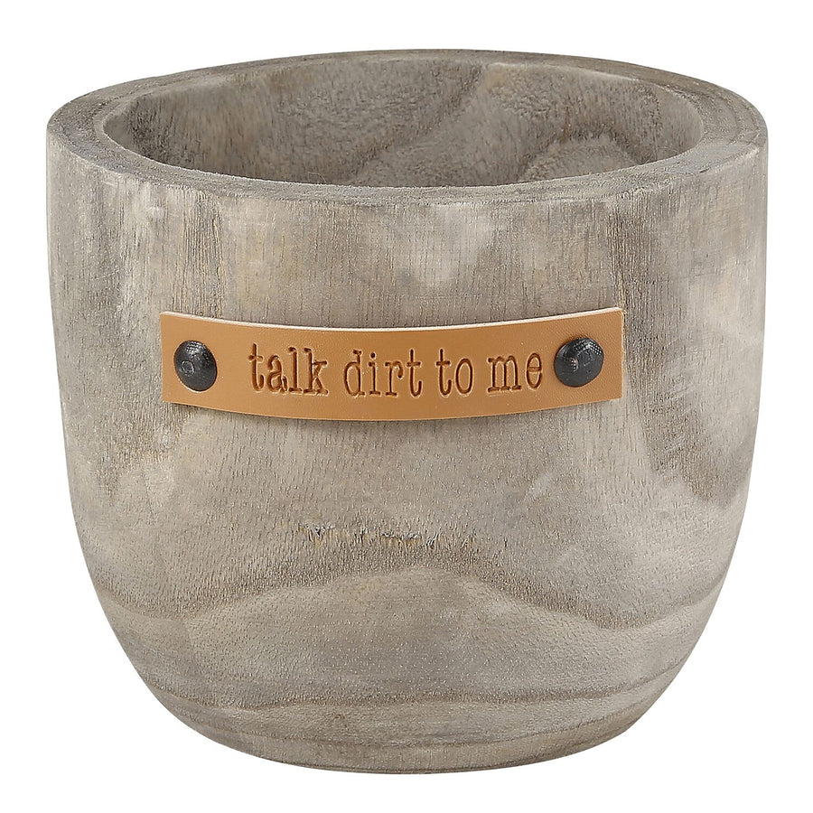 TALK DIRT PLANTER