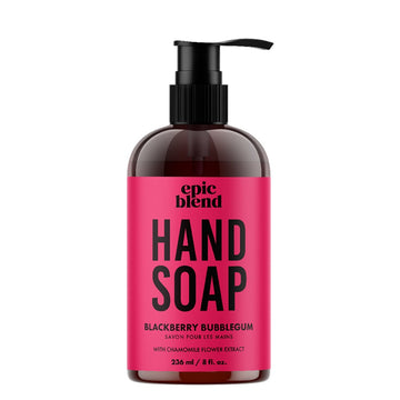 BLACKBERRY BUBBLEGUM HAND SOAP