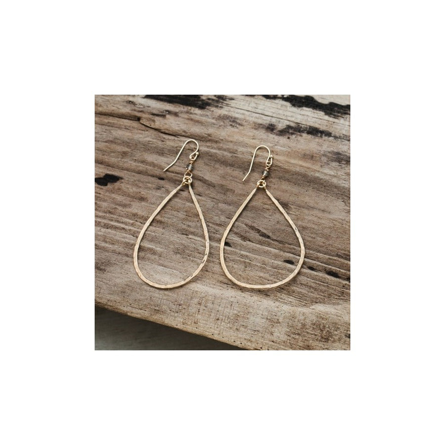 BLISS EARRINGS - GOLD/SMOKEY