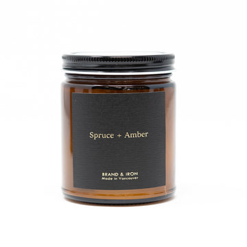 AS - SPRUCE + AMBER CANDLE