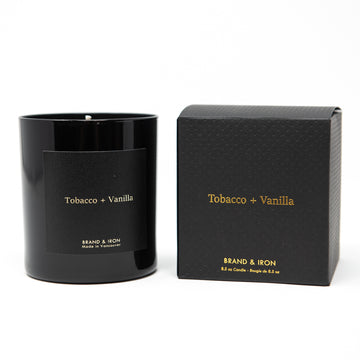 DS - TOBACCO + VANILLA CANDLE