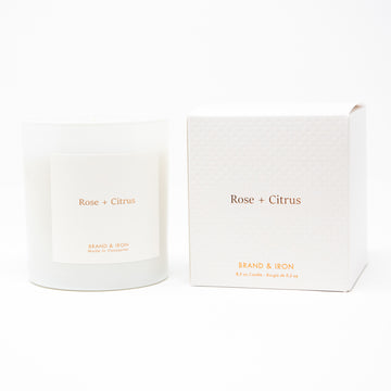 HS - ROSE + CITRUS CANDLE