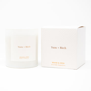HS - YUZU + BIRCH CANDLE