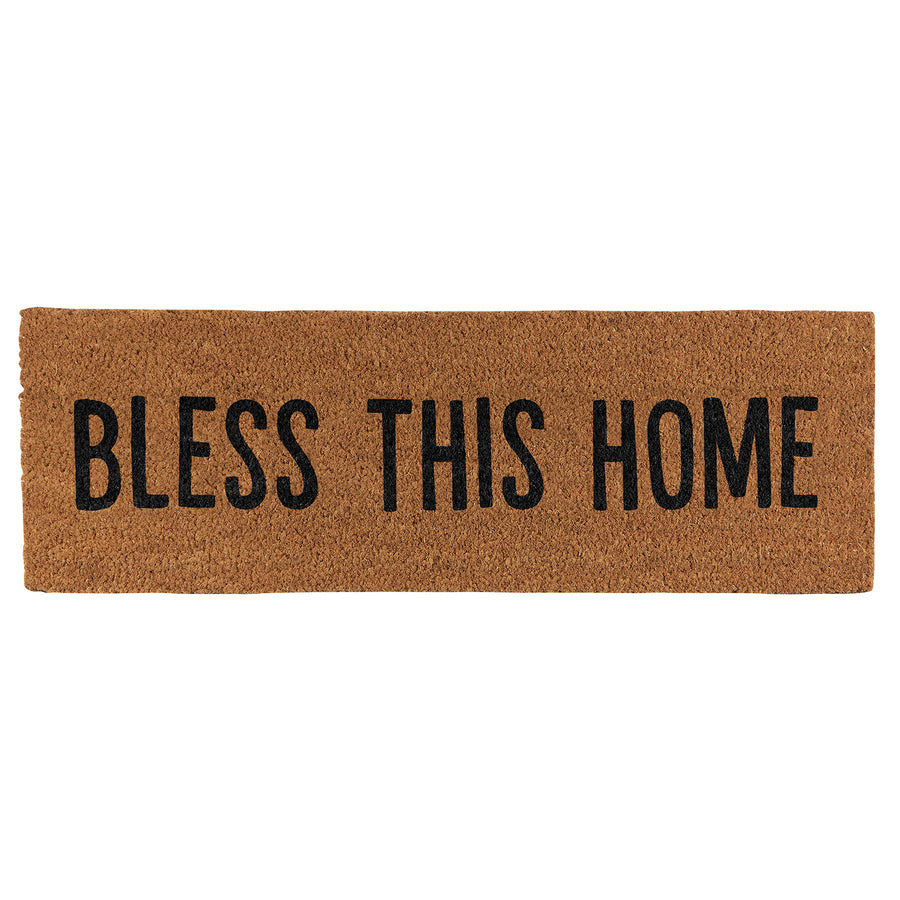 BLESS THIS HOME DOOR MAT