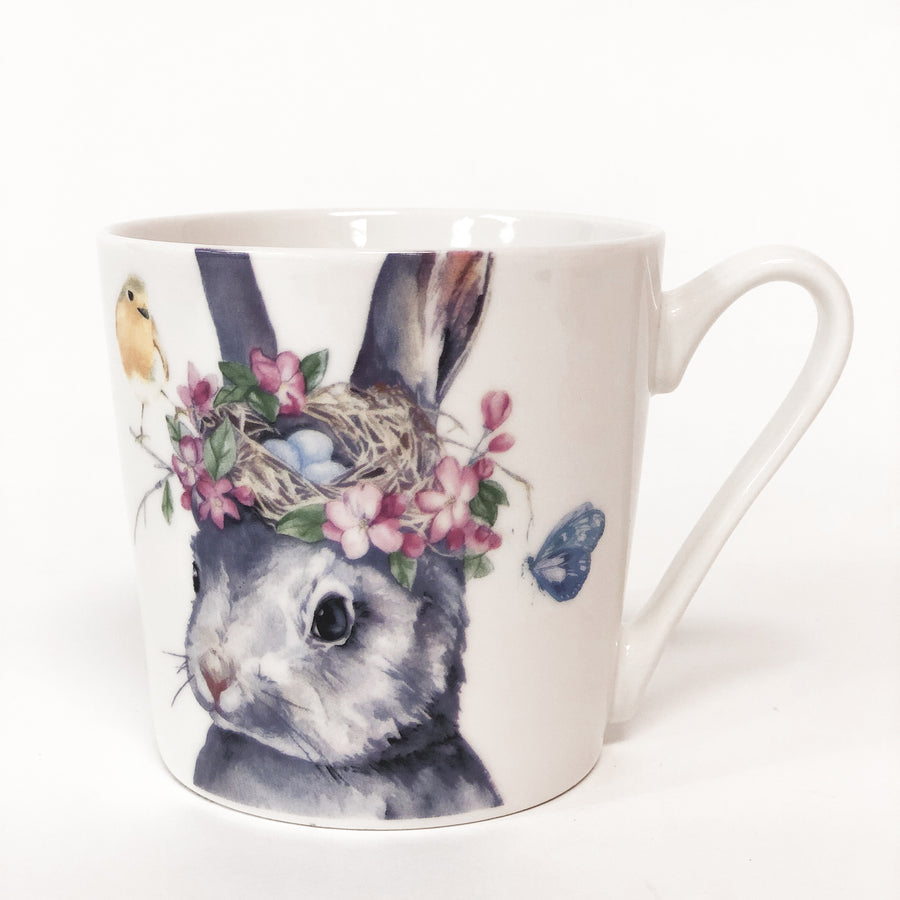 RABBIT/NEST MUG