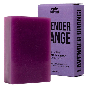 LAVENDER + ORANGE SOAP