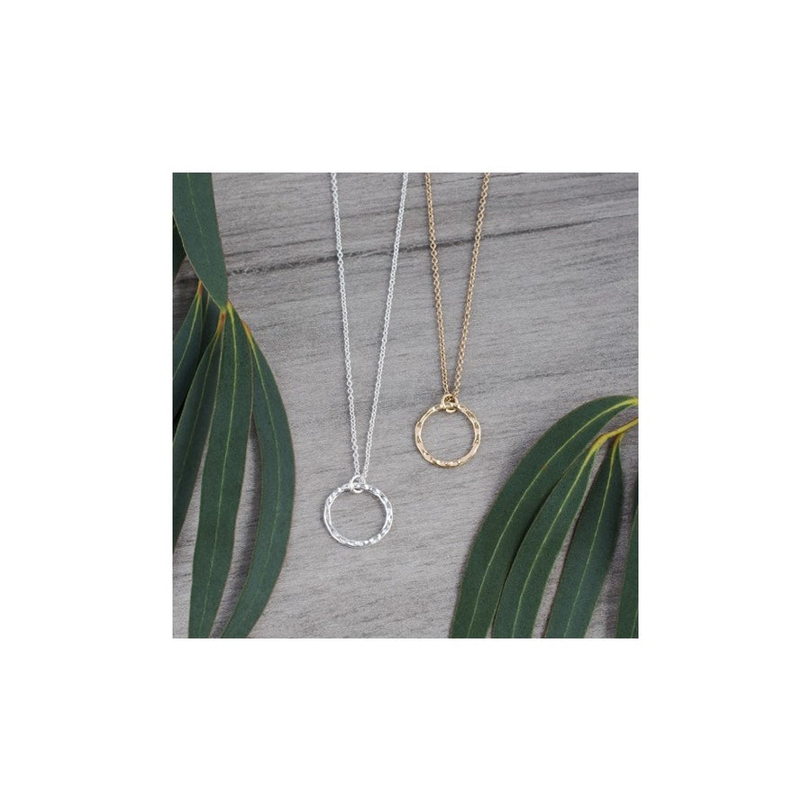 SIMPLECIRCLE NECKLACE - SILVER