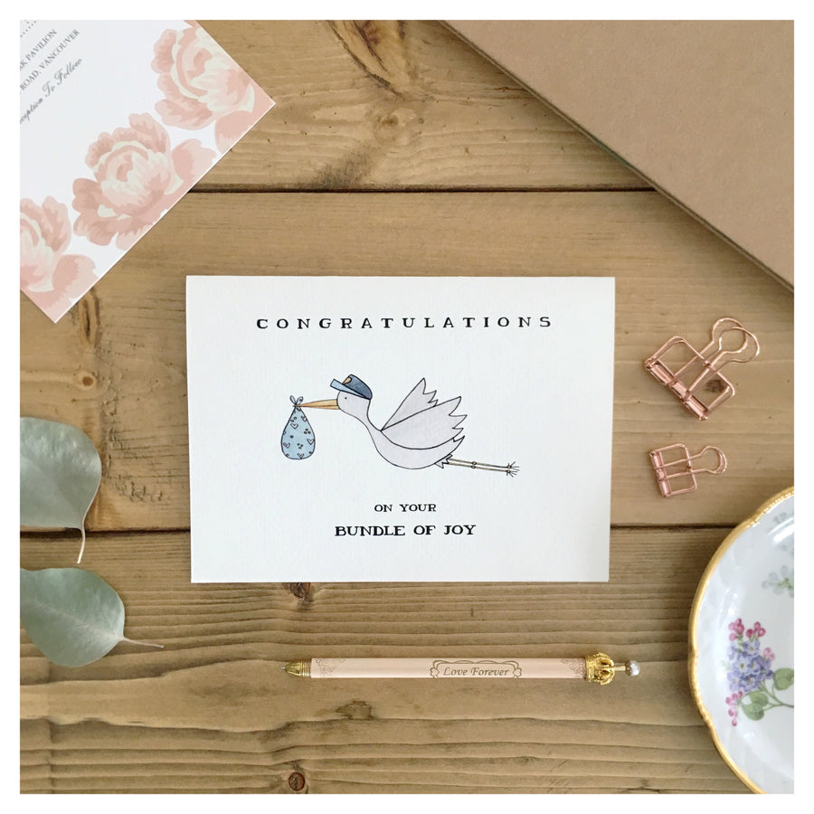 BUNDLE OF JOY CARD