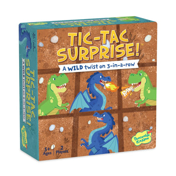 TIC TAC SURPRISE GAME - DINOS & DRAGONS