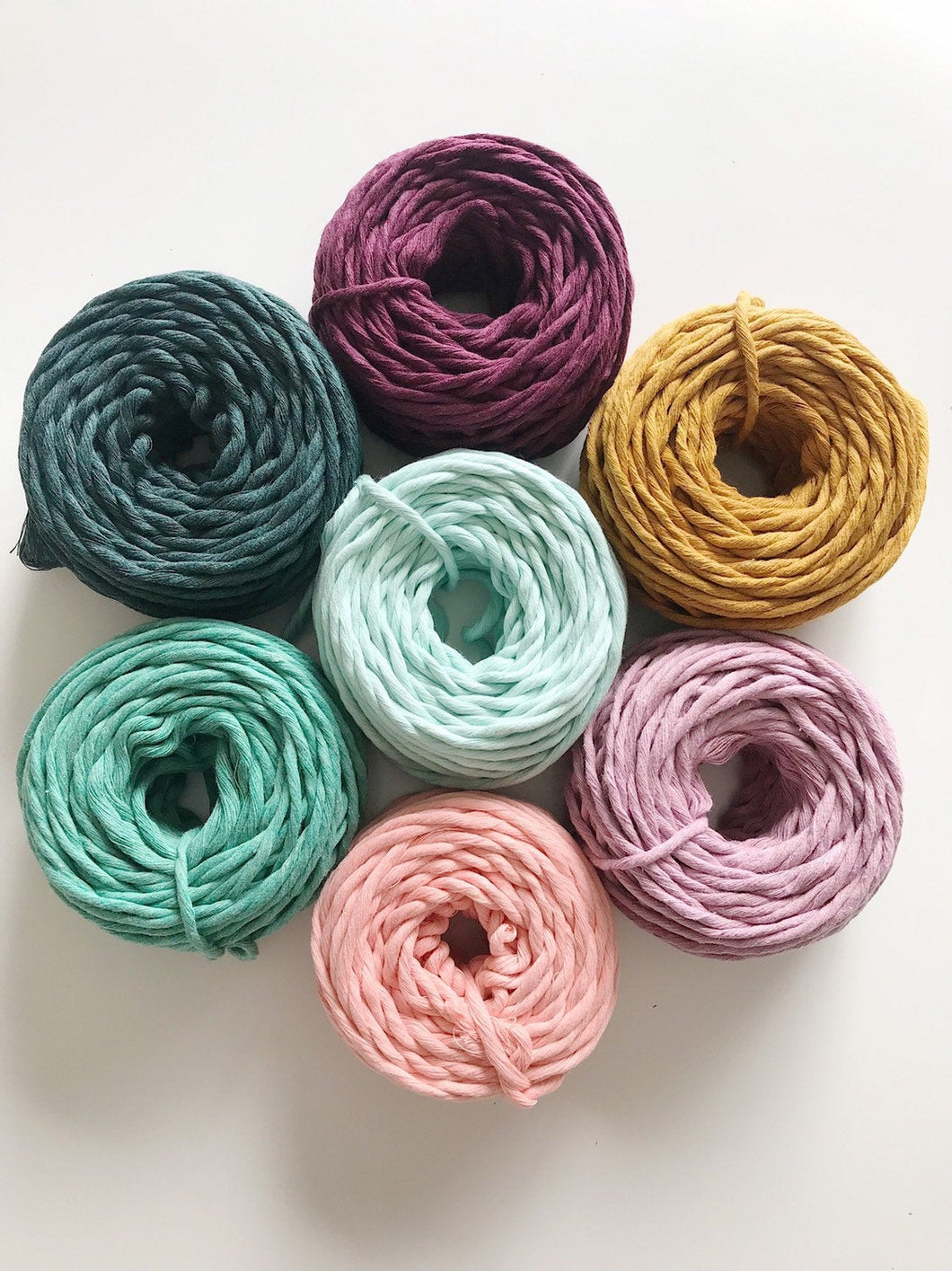 3mm - Single Strand Twisted 100% Cotton Cord