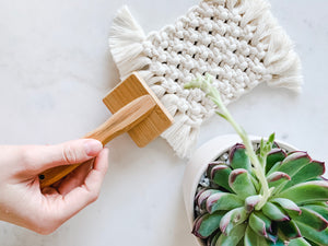 Small Macrame Brush