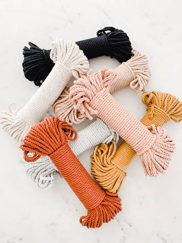 5mm 100% Cotton Rope Bundles